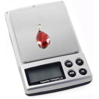 Xcellent Global Profesional 1000g x 0.1g Jewelry Mini Electronic Digital Peso del bolsillo del balance