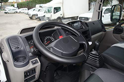 HABILL-AUTO Couvre Volant Grand Confort Simili Cuir Noir diametre 41-42cm