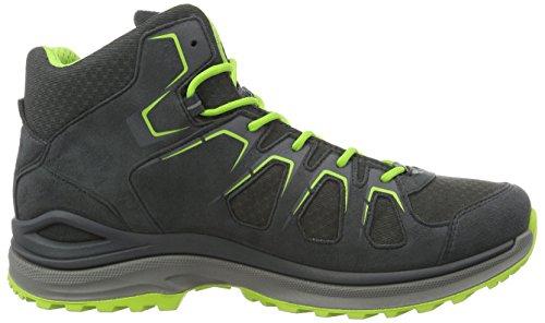Lowa Innox Evo Gtx Qc, Chaussures de Trekking et Randonnée Homme Grau (Graphit/Limone)