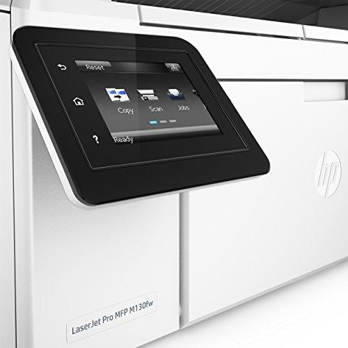 HP LaserJet Pro M130fw Laserdrucker Multifunktionsgerät (Drucker, Scanner, Kopierer, Fax, WLAN, LAN, Apple Airprint, HP ePrint, JetIntelligence, USB, 600 x 600 dpi) weiß - 6