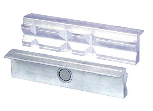 Heuer Schraubstockbacken (Schutzbacken, passend zu Schraubstock 140 mm, Material: Aluminium) 109140