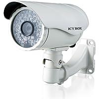 Icybox IB-CAM-G2213E 11516 Caméra IP canon pour Extérieur Blanc