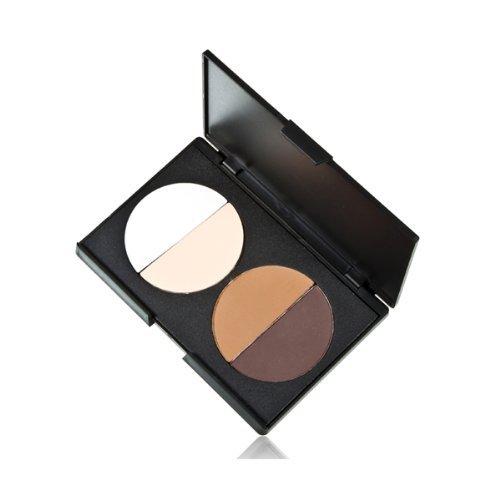 Palette Poudre Correcteur Teint Compact 4 Couleurs Maquillage Cosmétique