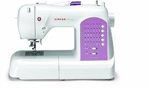 Máquina de coser Singer Curvy 8763 (30 puntos programados)