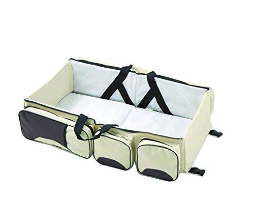 Adoraland multifonctionnel Sac Portable et pliable pour bébé bébé Berceau Lit Bébé de voyage momie Sac fourre-tout Kaki