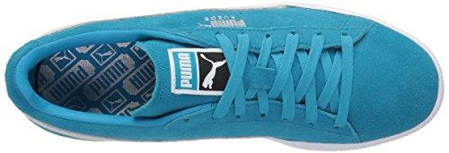 Puma Uomo Puma Classic Wedge L scarpe da ginnastica Blue Danube-Puma White