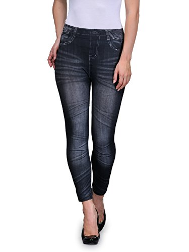 Oleva Denim Look Jegging
