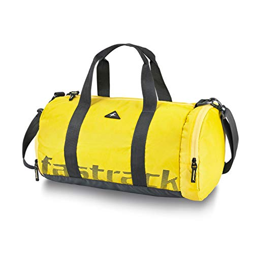 Fastrack Polyester 18 inches Yellow Travel Duffle (A0773NYL01)