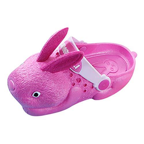 AIni Schuhe Baby,Mode Beiläufiges 2019 Neuer Kleinkind Kleinkind Kinder Baby Mädchen Jungen Kaninchen Strand Schuhe Sandalen Draussen Hausschuhe Taufschuhe (28-29,Pink) - Arizona 2-strap Sandal