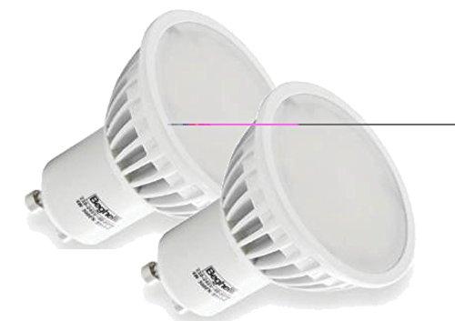 Beghelli lamp. led spot 4w gu10 3000k lampada a led tipo spot attacco gu10 luce calda
