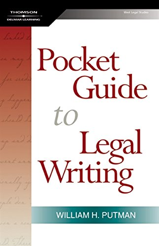 The Pocket Guide to Legal Writing, Spiral bound Version