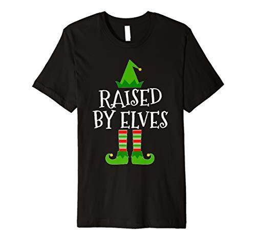 (Erhöhte von Elfen passender Familie Gruppe Weihnachten T Shirt)