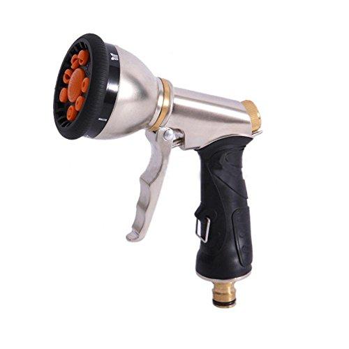 AMYMGLL Galvanik Multifunktionale wasserpistole kupfer spritzpistole haushaltsautowäsche hochdruckgewehr garten spray werkzeug garten gießen auto waschen (Galvanik Ausrüstung)