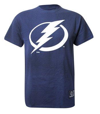 NHL Eishockey Logo T-Shirt TAMPA BAY LIGHTNING (L)
