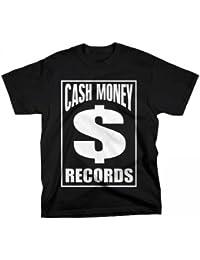 YMCMB - YMCMB - T-shirt noir CASH MONEY RECORDS logo Dollar - Homme