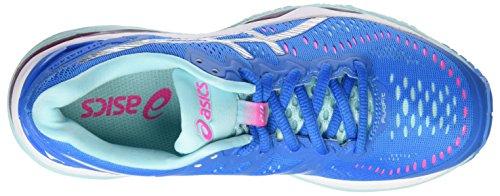 Asics Gel-Kayano 23, Scarpe Sportive Outdoor Donna Multicolore (Diva Blue/Silver/Aqua Splash)