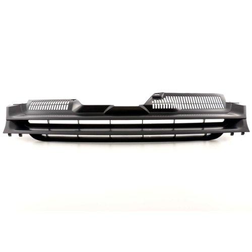 Akhan KG12B - Sportgrill Kühlergrill Schwarz geeignet für VW GOLF 5, Golf V