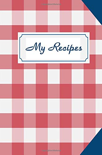 My Recipes: Note Down All Your Favourite Recipes - Sallys Baking