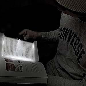 Vktech® Creative Panneau LED en plastique Lightwedge Lampe de lecture lumière