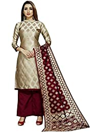 Anshukam Women's Unstitched Dress Material
