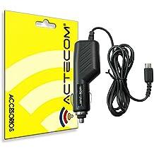 ACTECOM® Cargador Adaptador Mechero para Nintendo DSi NDSi DSiXL 3DS 3DSXL / LL