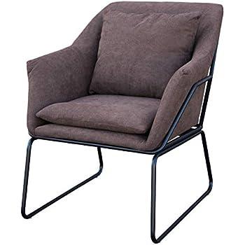Mr.do Samt Sessel Schwarz Stuhl Loungesessel