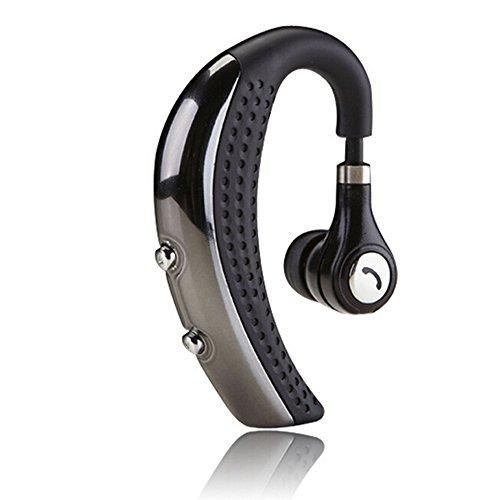 Sunvito Mini Stereo Senza Fili Bluetooth 4.0 Hanging-Ear Stile Auricolare Cuffia Auricolare con Microfono per iPhone 6 Plus/6/5s/5c/5, Ipad, Ipod, Samsung Galaxy, Samsung Note, Sony, Lg, Telefono Android e Altri Dispositivi Bluetooth