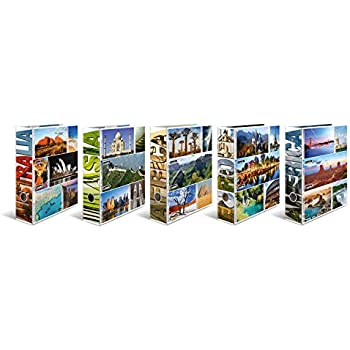 Auswahl Rom z London Paris Berlin Ordner Ringbuch Städte DIN A4 New York