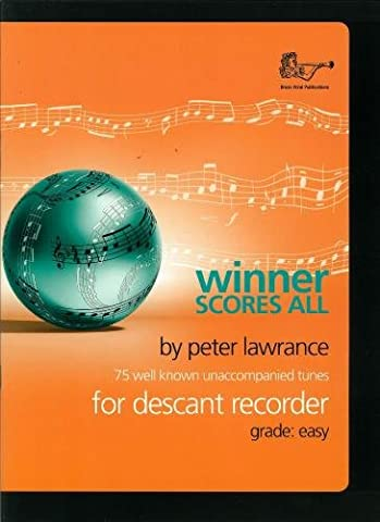 Winner Scores All for Descant Recorder (Recorder