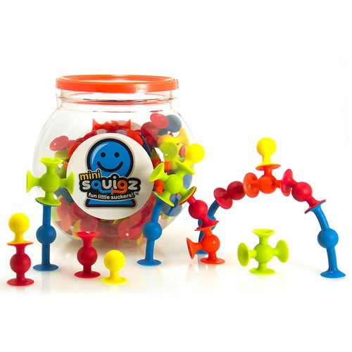 Preisvergleich Produktbild Fat Brain Toys FA107-1 - Konstruktionsspielzeug - Mini Squigz