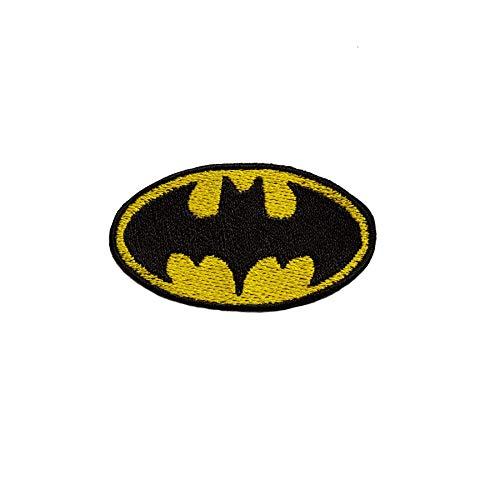 Emporium Stickerei Superhelden zum Aufbügeln, Bestickt, für Partys, Kostüme, Jeans, Aufnäher, Cartoon-Jacke, Badge Bag, Multi, M (Einzigartige Superheld Kostüm)