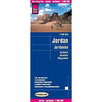 Jordanie : 1/400 000