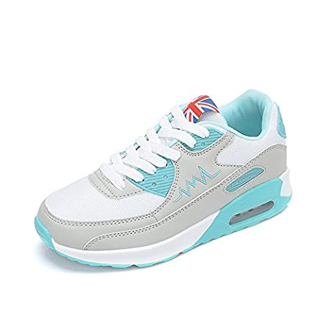 Peggie House Baskets Chaussures Jogging Course Gym Fitness Sport Lacet Sneakers Style Running Multicolore Respirante