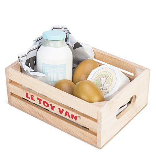 Le Toy Van Honeybee Market Eier und Milch Kiste (Große Milch-kiste)