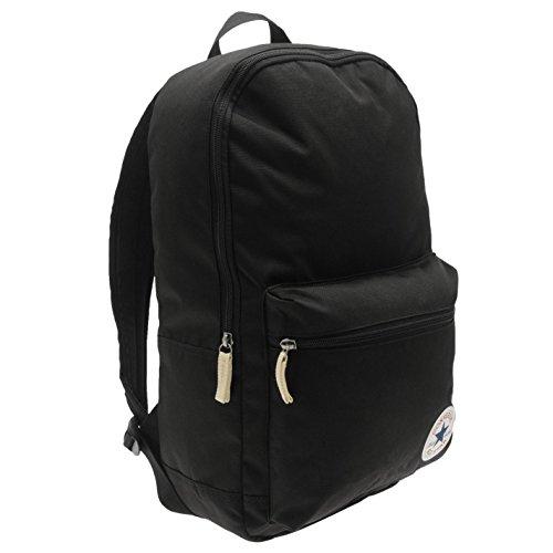 Imagen de converse– negro  bolsa de deporte gymbag– para niños, negro, h 44.5cm; w 29cm; d 13cm.