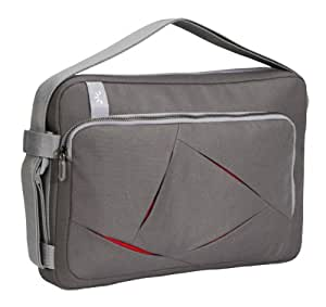 Case Logic ULA-112 12-Inch PC/13-Inch Macbook Laptop Attache (Gray)