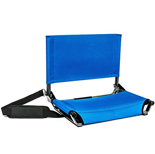 Cascade Mountain Tech-tragbar Stadion Sitze mit Schultergurt, SS-AL-RB, königsblau -