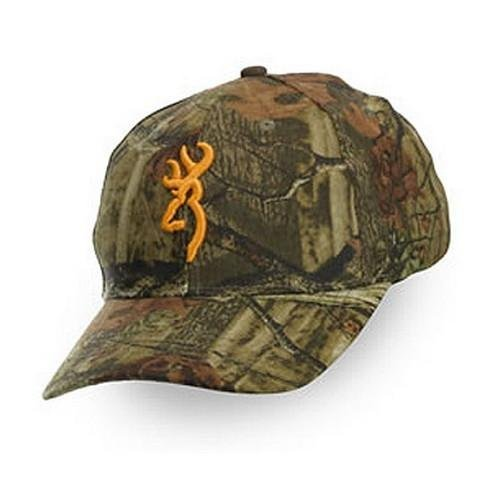 Browning Rimfire Cap, Mossy Oak Break-Up Green/Yellow, 308379201 by Browning