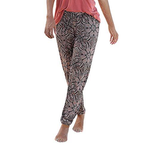 ose   All-Over-Print Haremhose   Schlabberhose aus 75% Baumwolle   Luftige Urlaubshose mit Taschen   Leichte Sommer Hose   Weite Chillerhose mit und ohne Bündchen ()