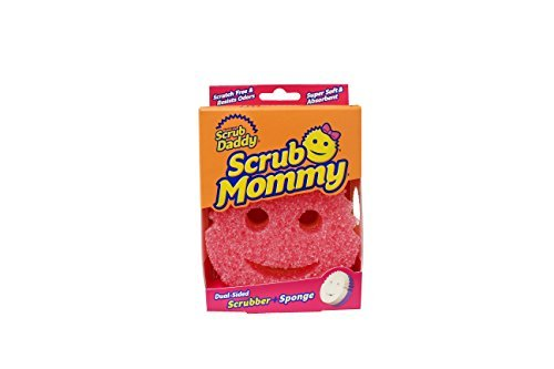 scrub-mommy-dual-sided-sponge-with-soft-absorbent-and-scratch-free-scrubbing-sides-2-count-by-scrub-