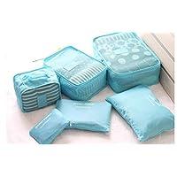 Six-Piece Secret pouch travel Luggage Organiser Set