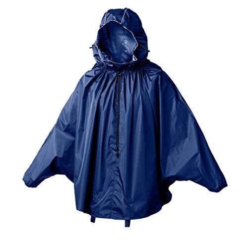 Brooks pncho John Boultbee Cambridge Rain Cape Pluie pour adulte Bleu - bleu