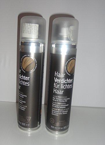 Vorratsangebot! 2 x Hairfor2 Haarverdichtungsspray 300ml (Dunkelbraun)