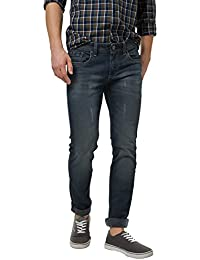 BASICS Torque Fit Vulcan Navy Stretch Jean