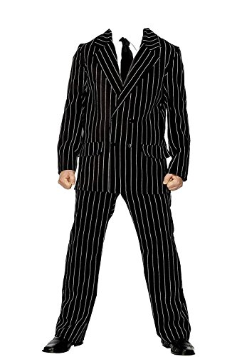 The Addams Family Group Fancy Dress Gothic Halloween Party Costumes[UK Small/Medium,Gomez Addams]