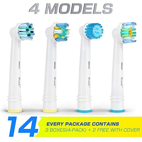 Zoom IMG-1 wotek testine ricambio spazzolino elettrico