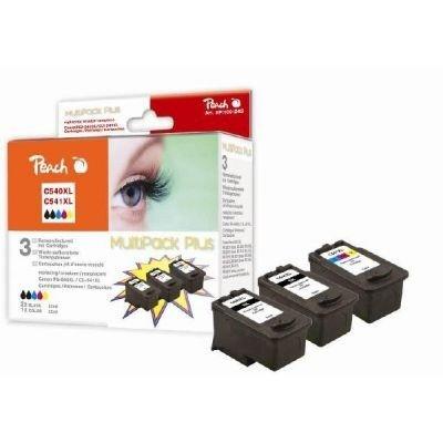 Preisvergleich Produktbild Peach Spar Pack Plus Druckköpfe kompatibel zu Canon PG-540XL, CL-541XL