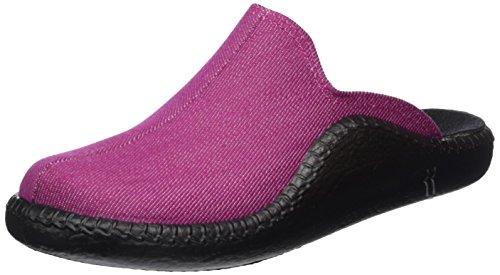 Romika Damen Mokasso 116 Pantoffeln Pink (fuchsia 417)