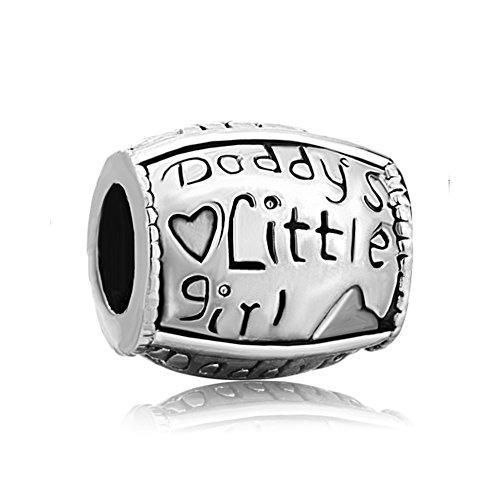 Sug jasmin papà little girl charm per braccialetti