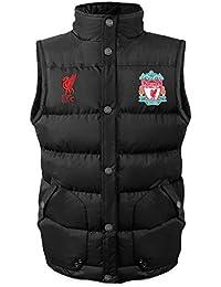 Liverpool FC officiel - Gilet rembourré sans manches - thème football - homme